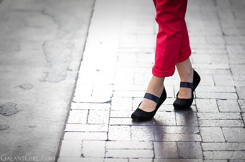 Jil Sanders Ballet Flats, Ballet Flats, step,