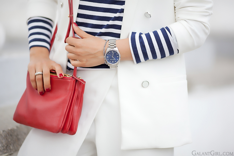 celine trio bag and Michael Kors watch