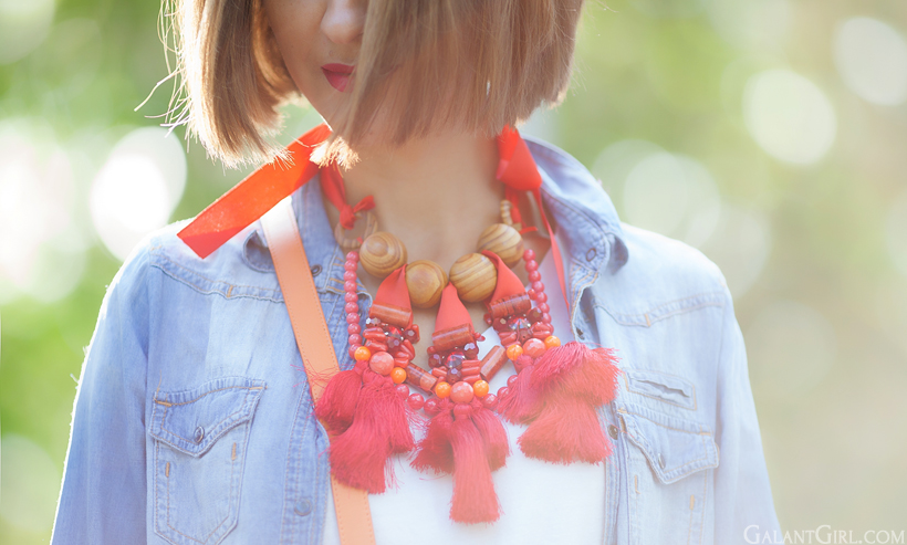 perfect statement necklace by GalantGirl.com