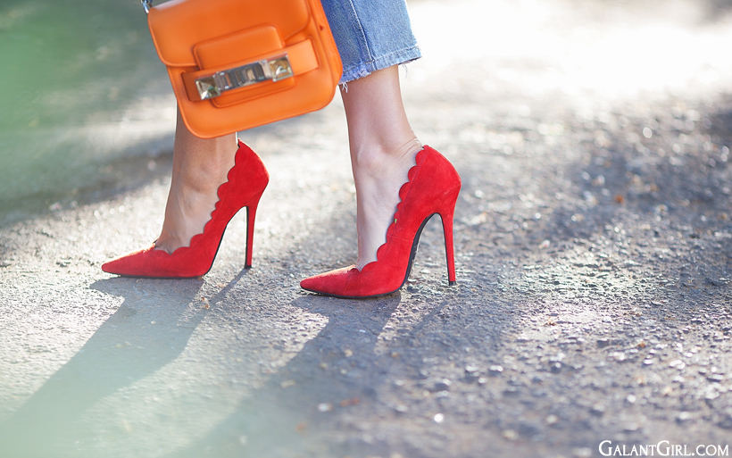 perfect red pumps and Proenza schouler PS11