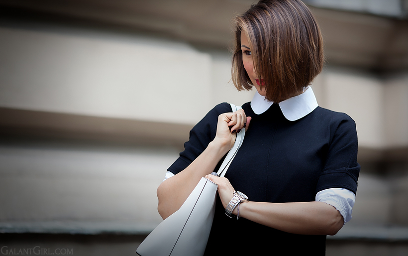 collar outfit by GalantGirl.com