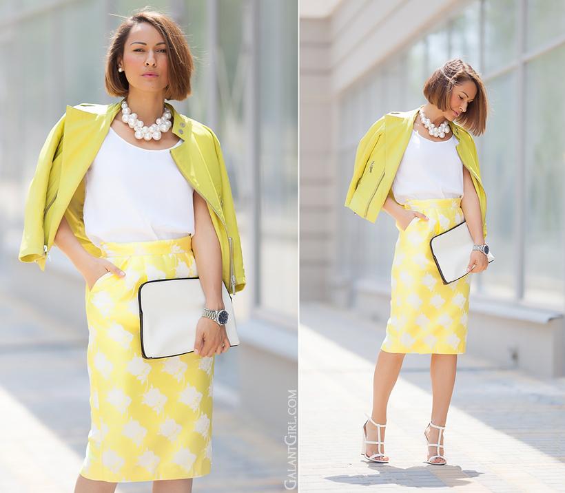 summer pencil skirt  by GalantGirl.com