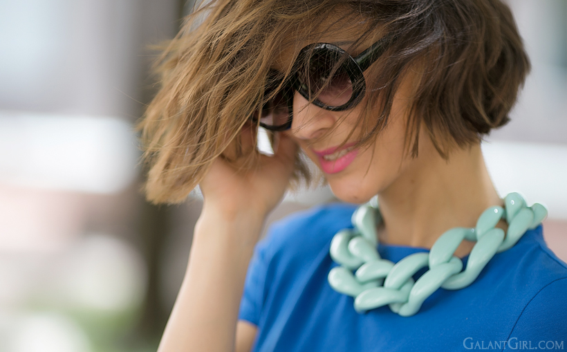 diana broussard nate necklace in turquoise