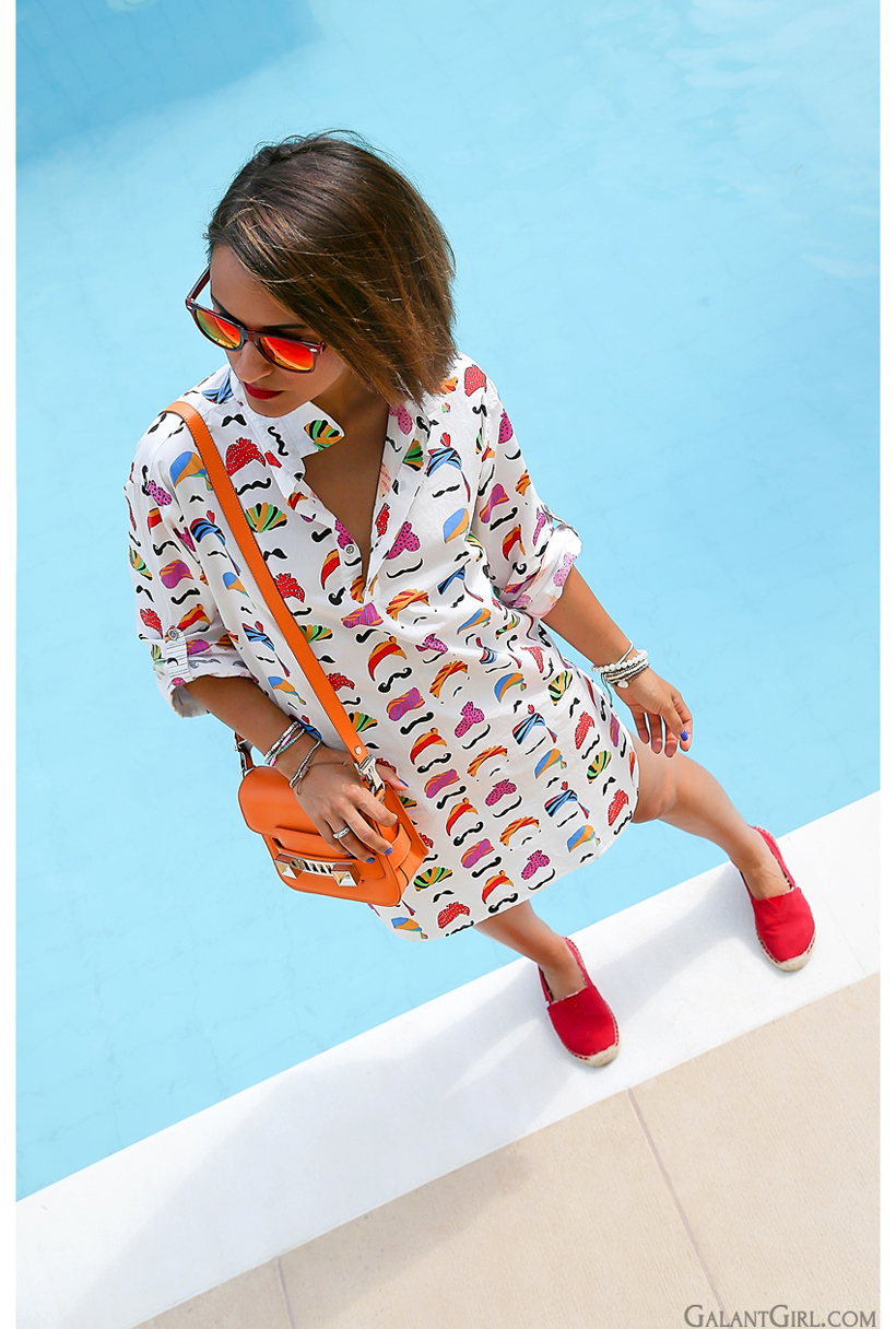 Pool look with Proenza Schouler PS11 by GalantGirl.com