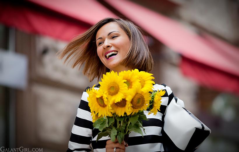 sunflowers and GalantGirl.com