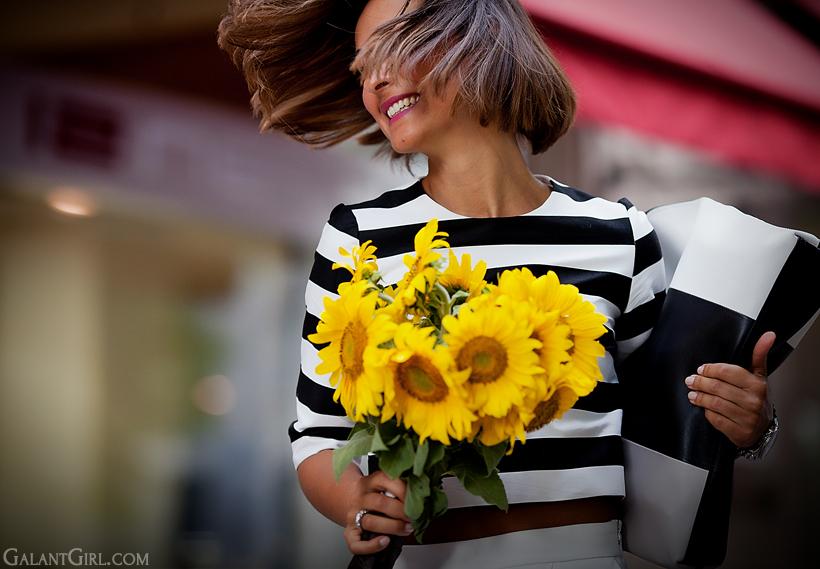 sunflowers on GalantGirl.com