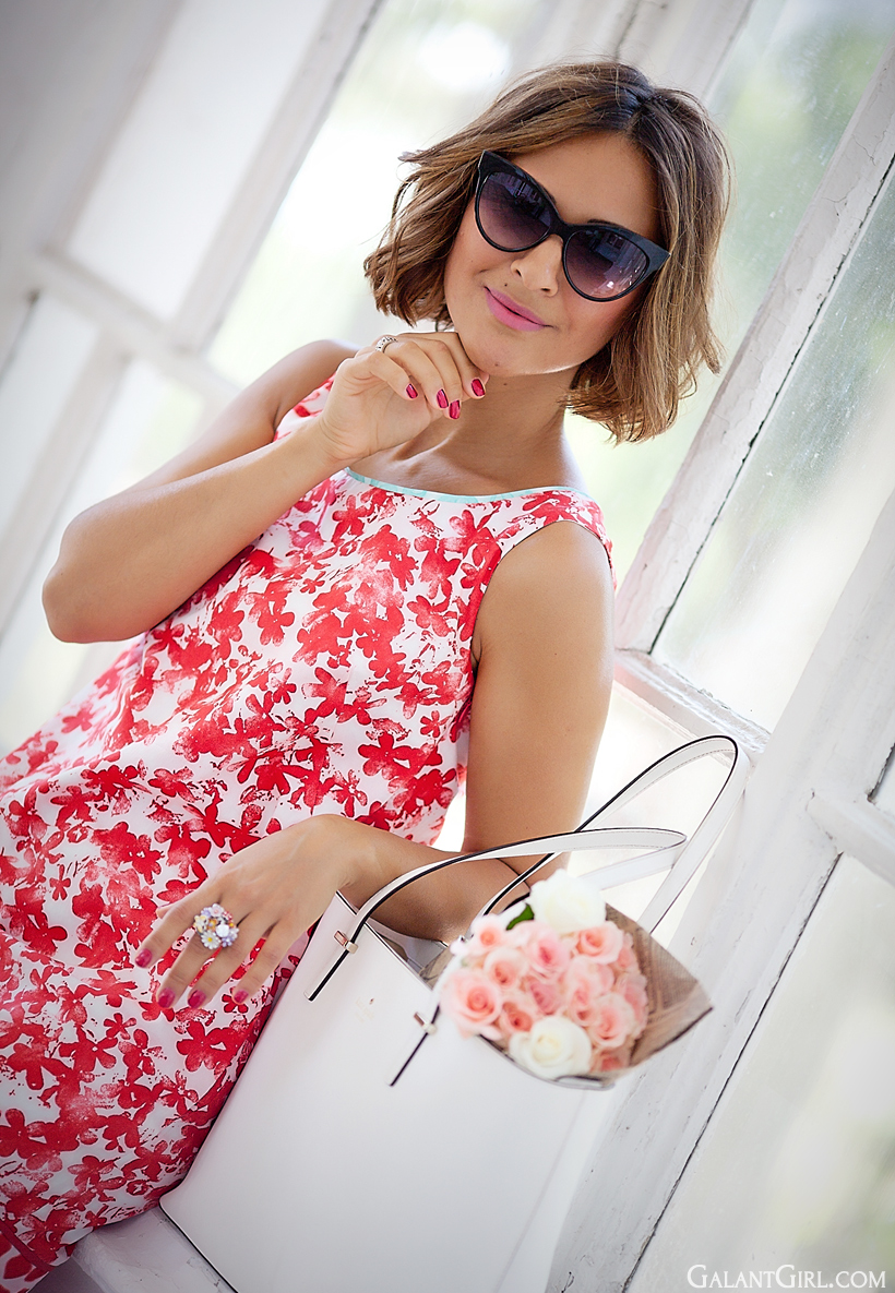 marella Calcio Floral dress
