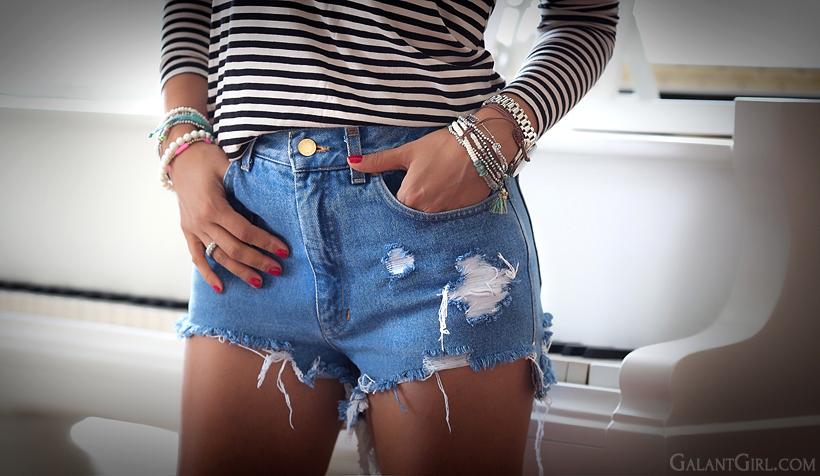 Как из джинс правильно сделать шорты