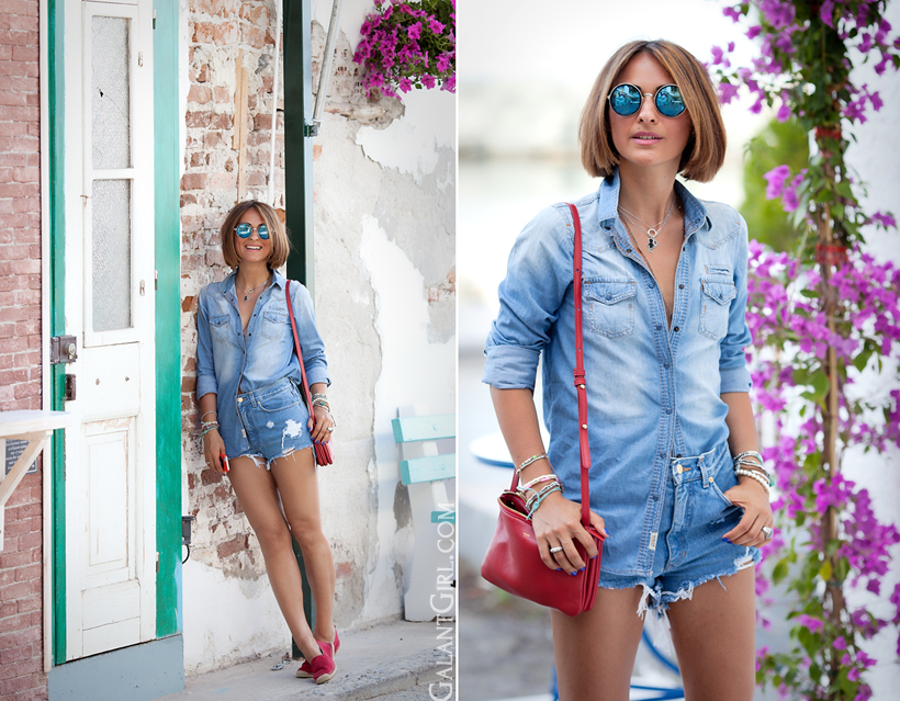 total denim outfit by GalantGirl.com