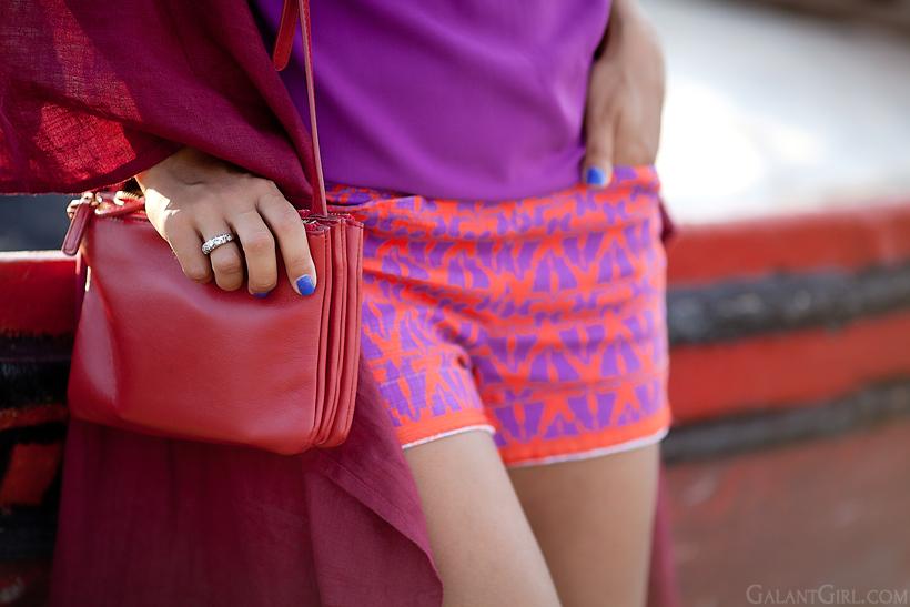 anthropology shorts, Celine bag