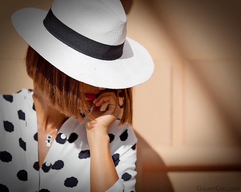 Fedora hat - Al Capone hat by GalantGirl.com
