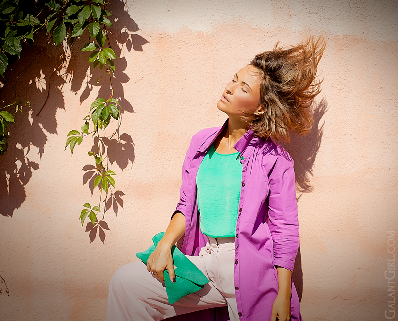 Color block outfit for summer 2014 on GalantGirl.com
