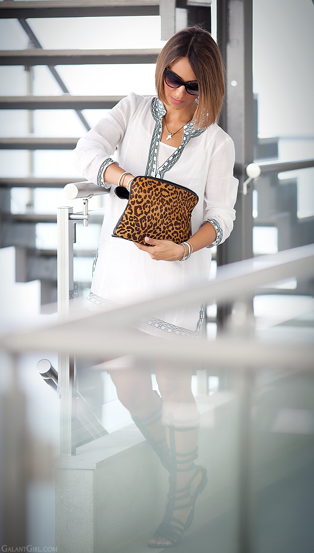 leopard clutch 3.1 Phillip Lim
