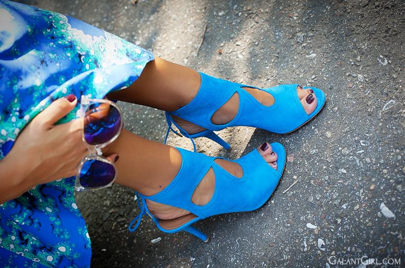 Aquazurra heeled sandals
