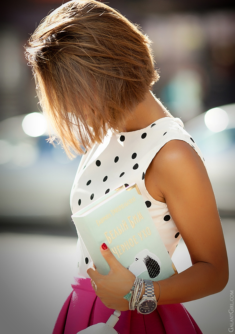book clutch outfit by Galant Girl