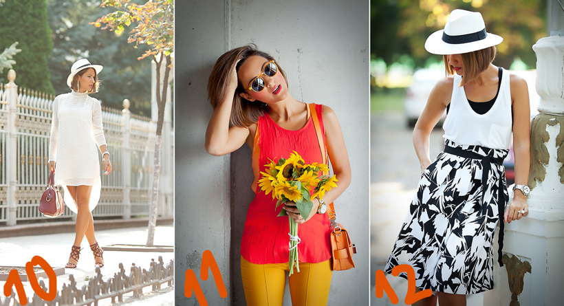 summer outfits by Galant girl