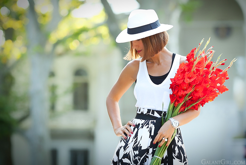 summer outfit by GalantGirl.com
