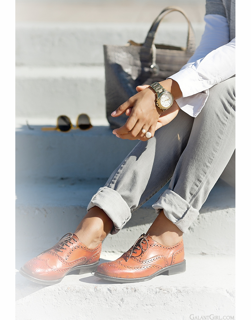 brogues outfit by GalantGirl.com