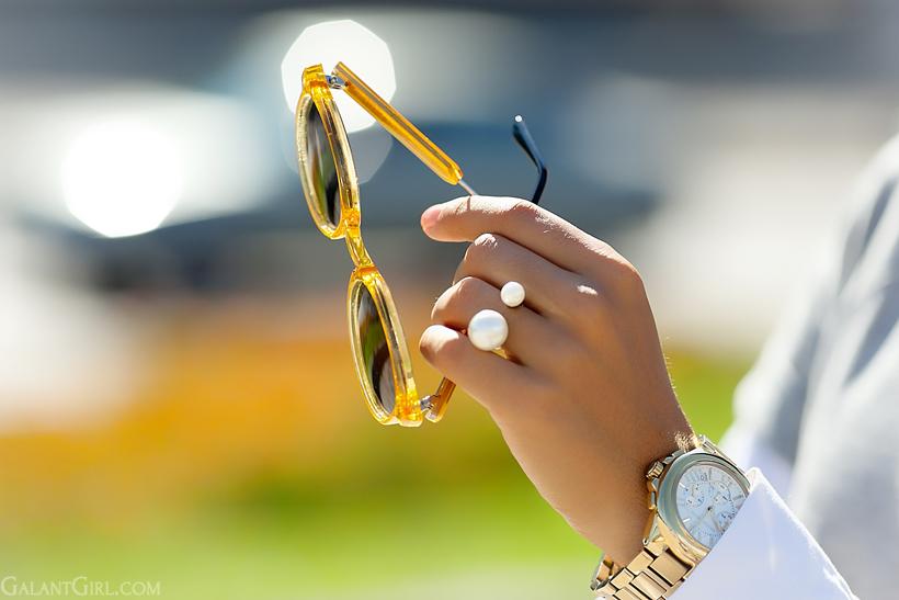 spitfire sunglasses and michael kors watch