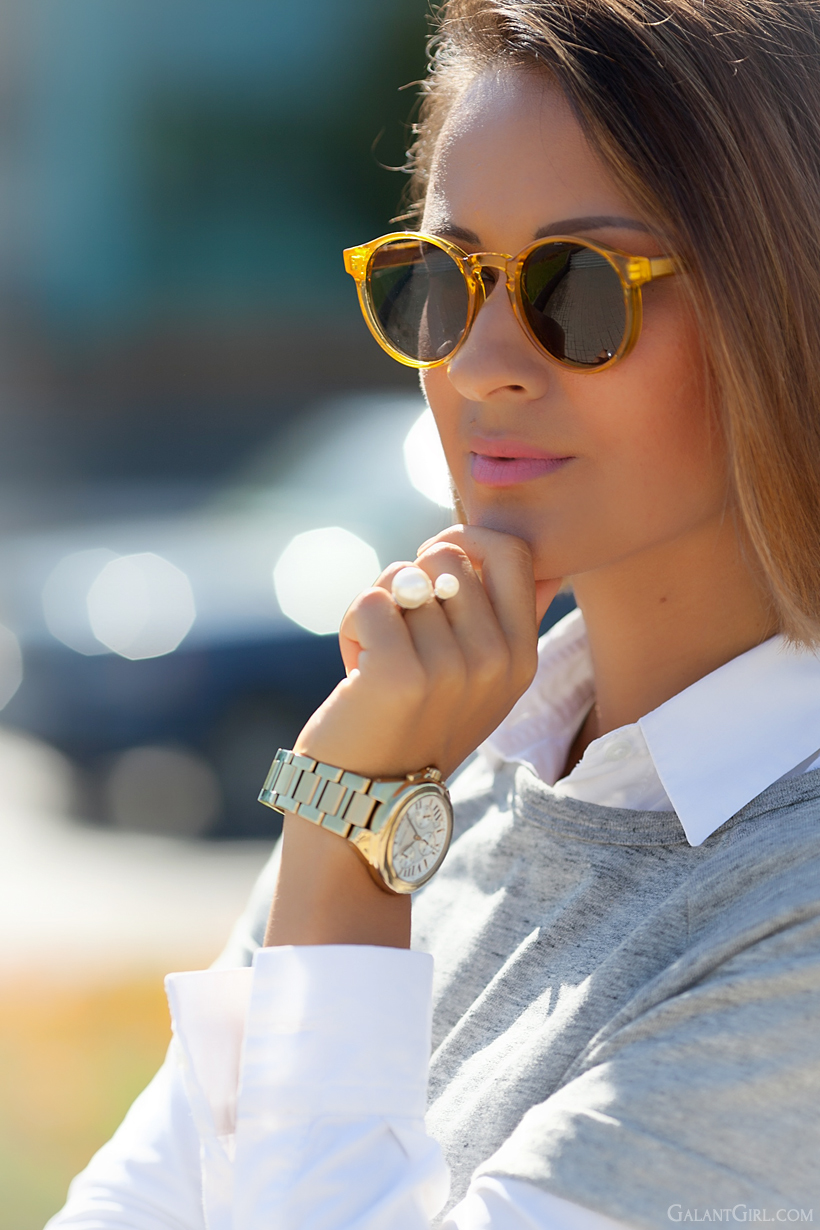 Michael Kors watch and Spitfire sunglasses