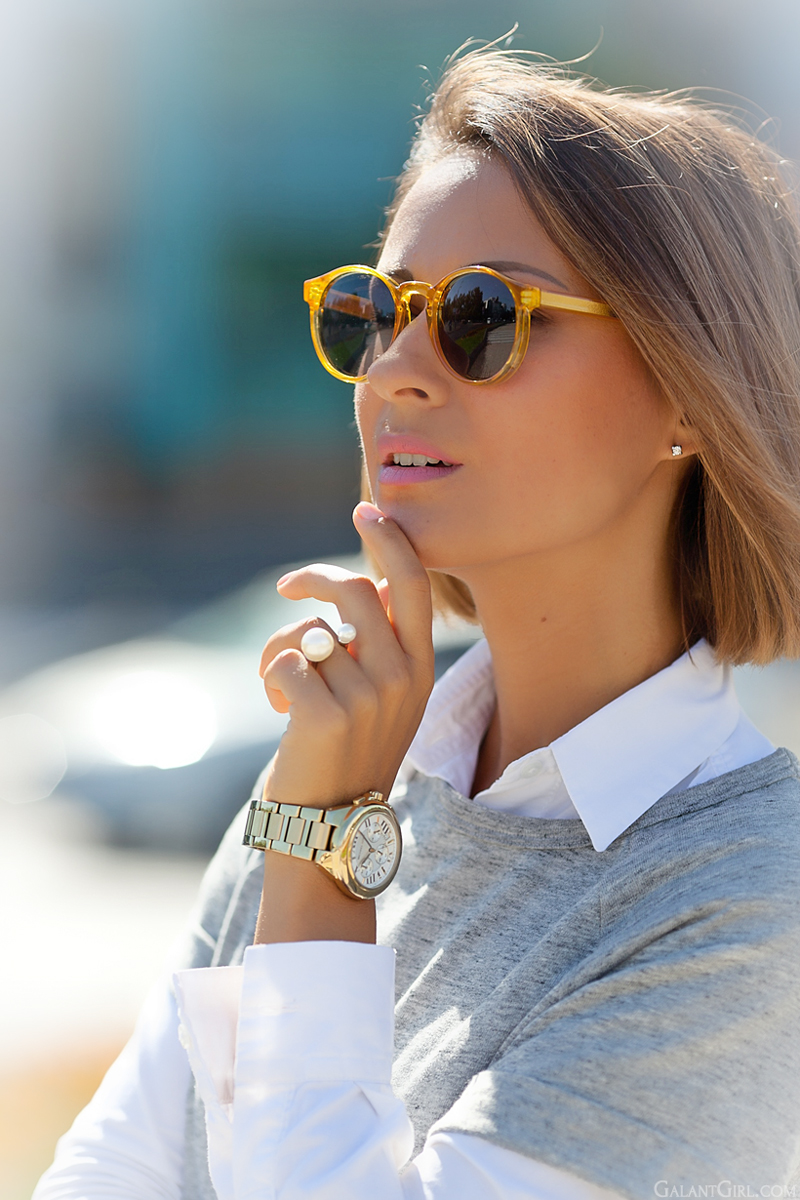 spitfire sunglasses and michael kors watch