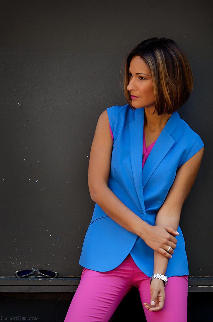 Kira Plastinina sleeveless blazer by GalantGirl.com