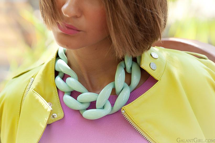 Diana Broussard nate necklace
