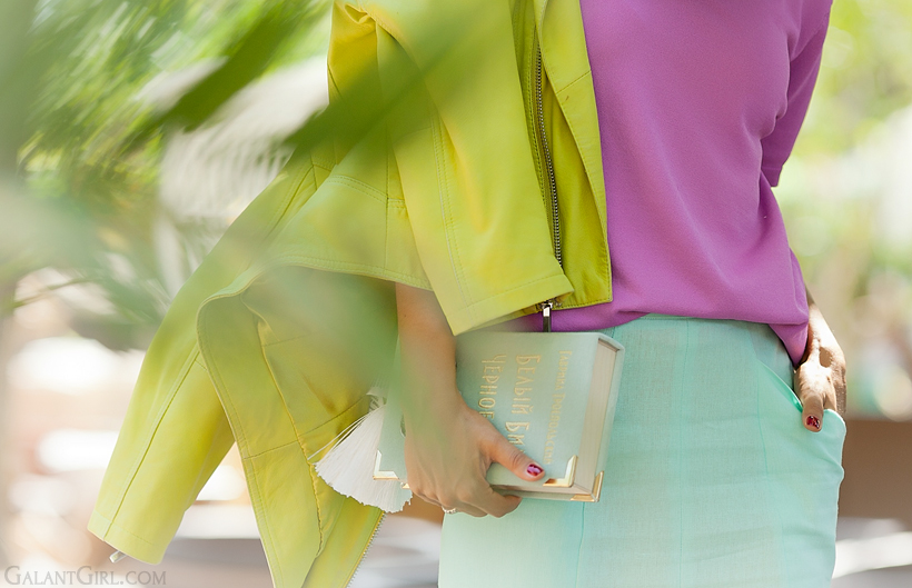 pastel outfit for autumn by GalantGirl.com