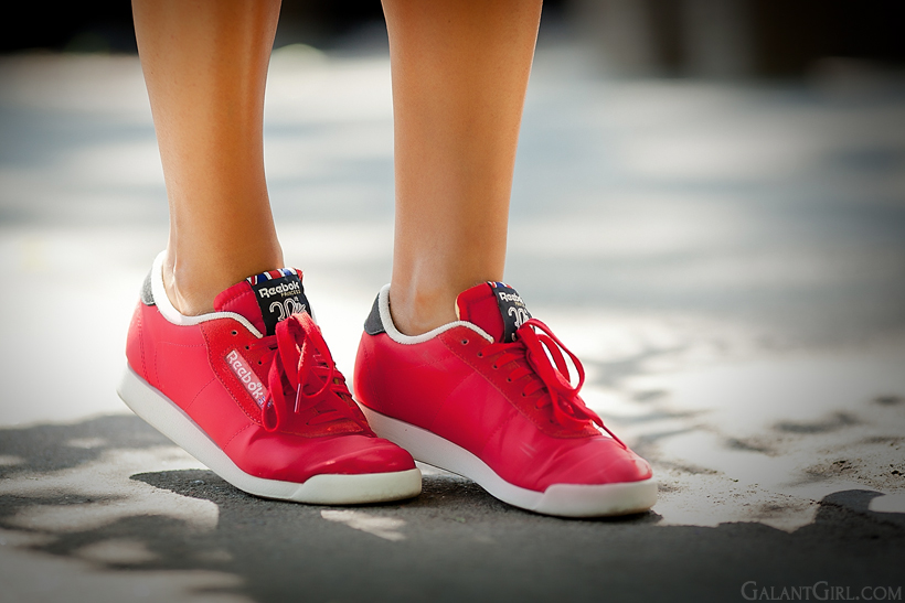 Reebok Classic PRINCESS VINTAGE INSPIRED - Trainers - red