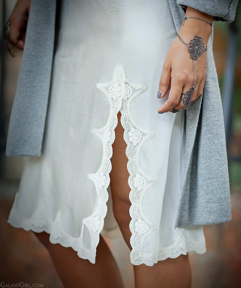 silk dress Blumarine