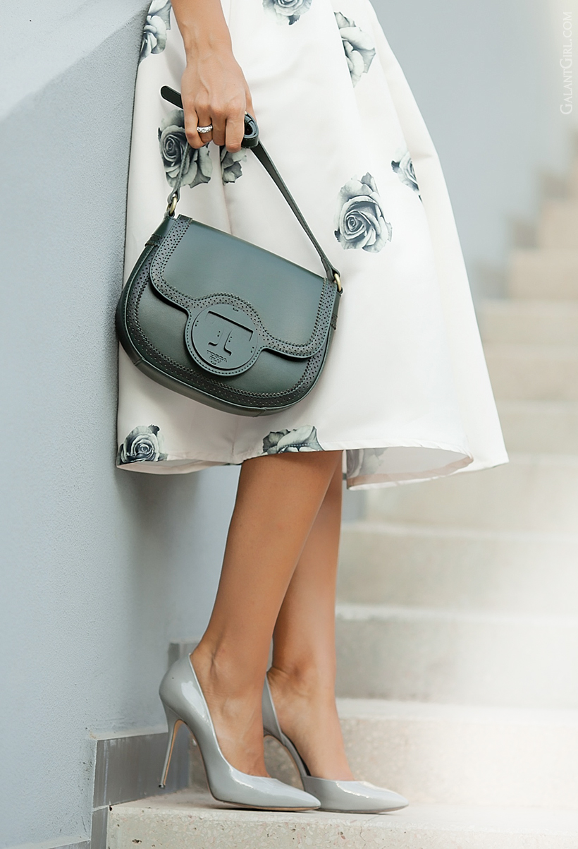 Tosca Blu bag and Casadei pumps by Galant Girl