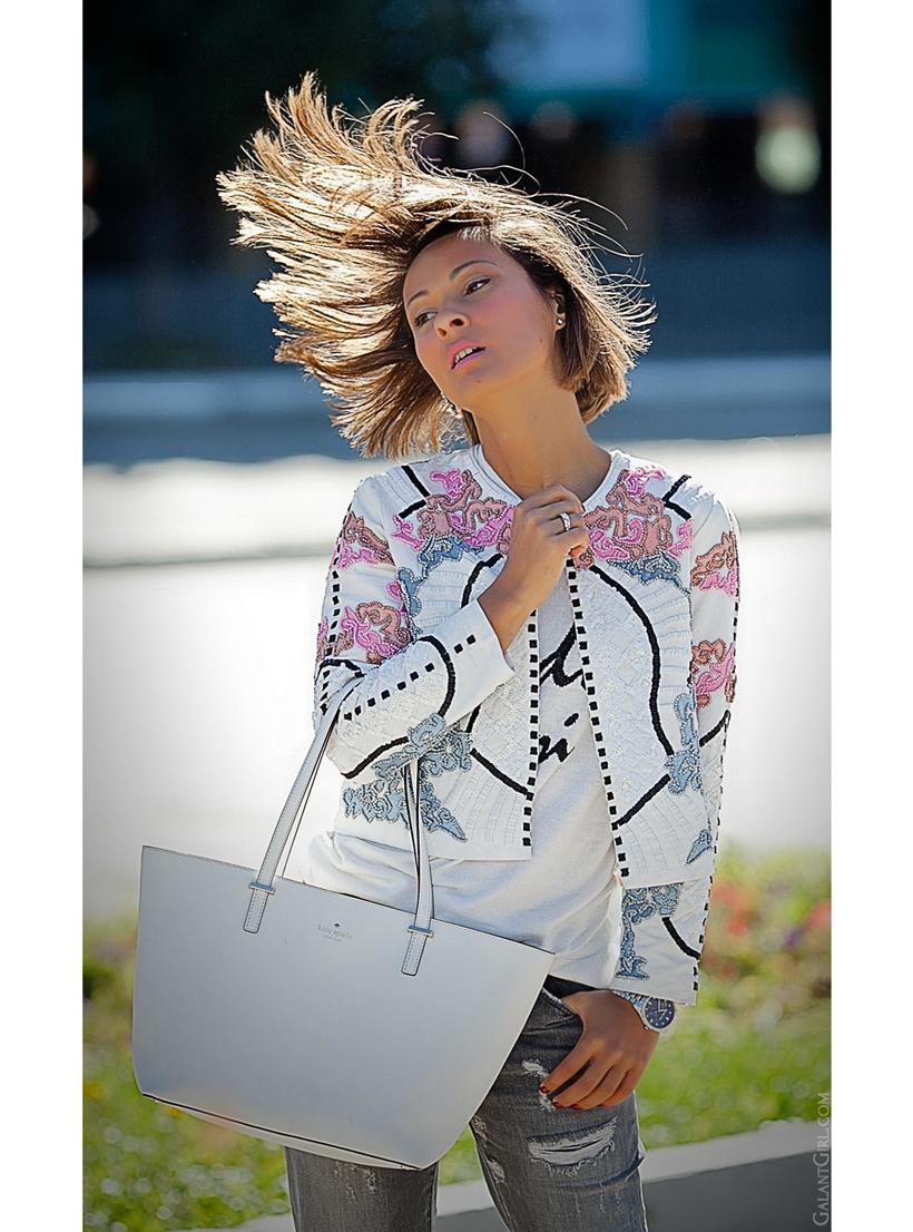 embellished jacket on GalantGirl.com