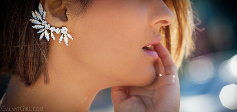 AMBER SCEATS ear cuff