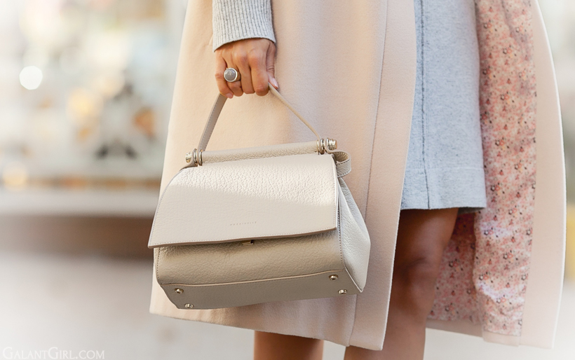coccinelle milk tote bag on GalantGirl.com