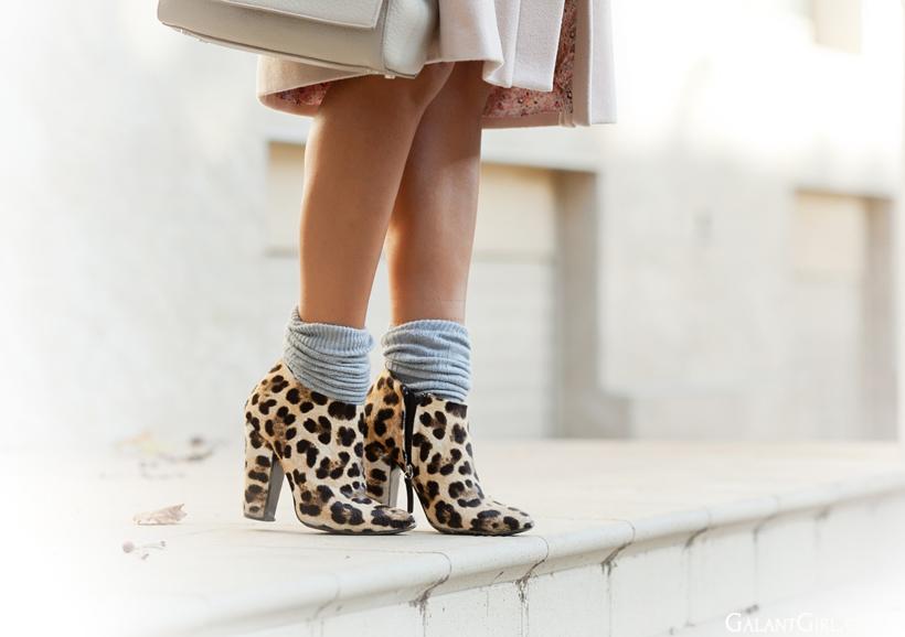 leopard booties by Zanotti design on GalantGirl.com