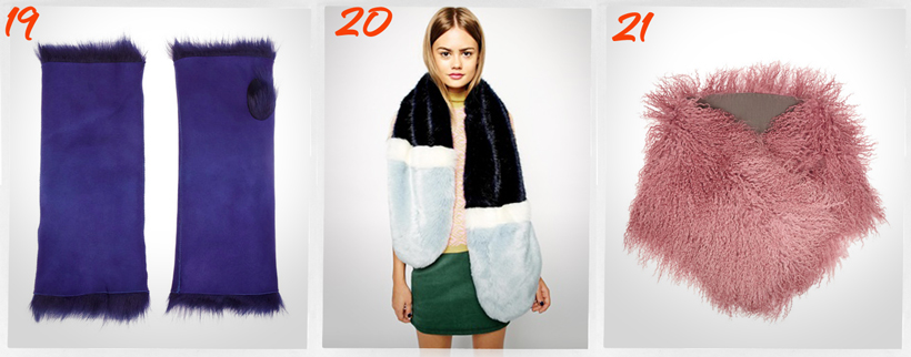 fur accessories for winter 2014