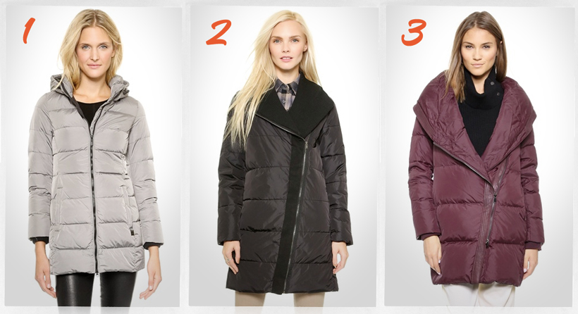 cute down jackets for winter 2014