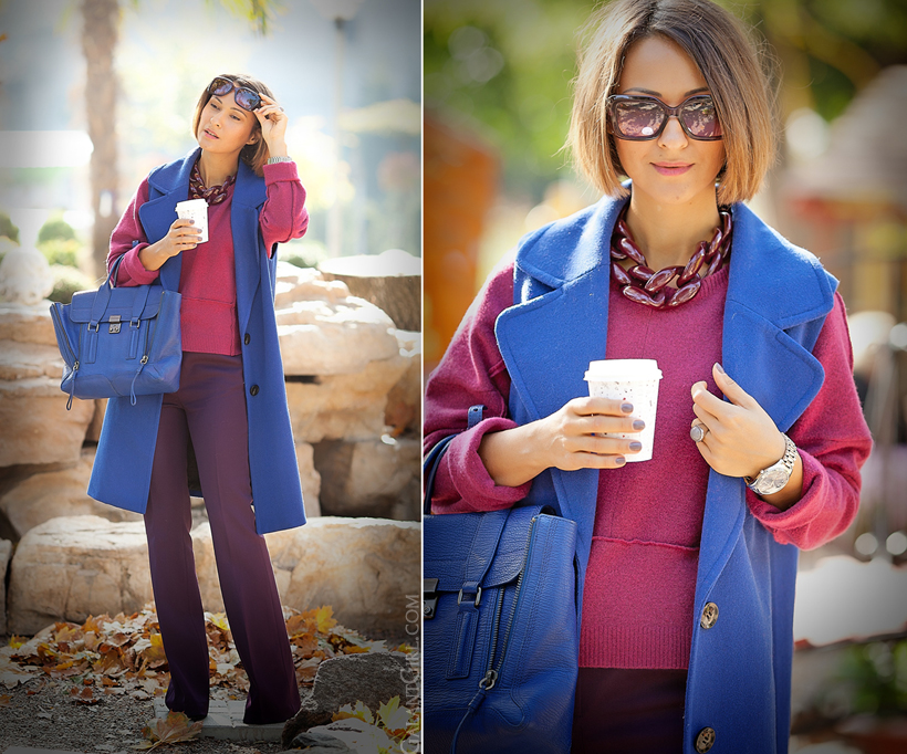 autumn colors for office dress code outfit on GalantGirl.com
