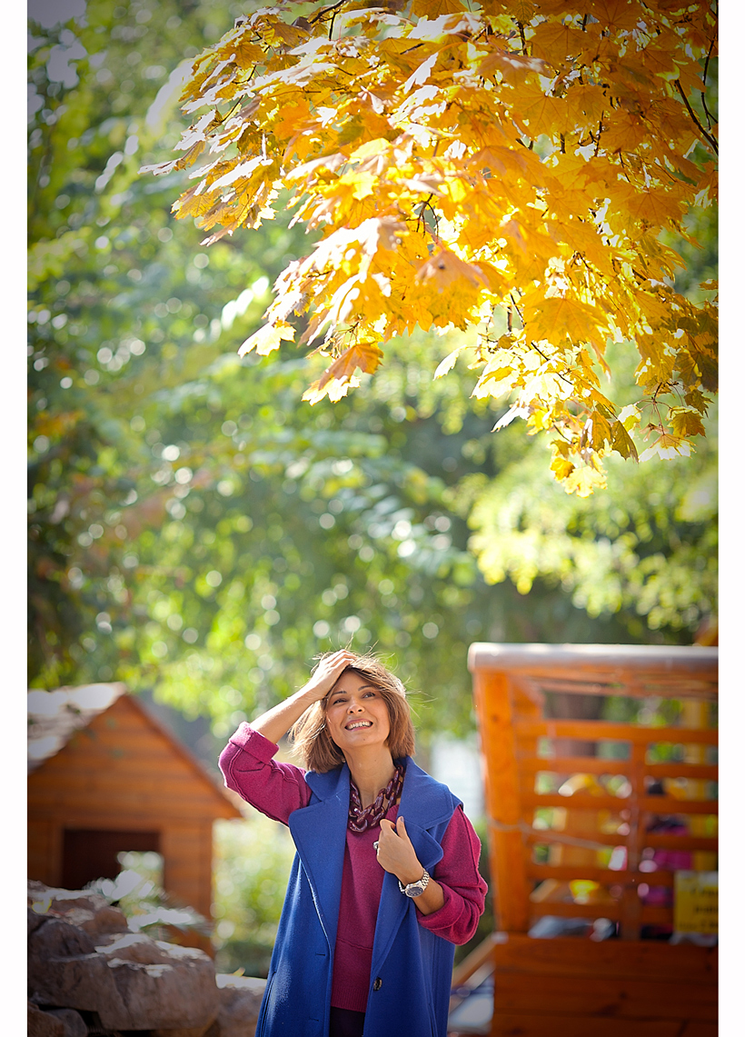 autumn leaves on GalantGirl.com