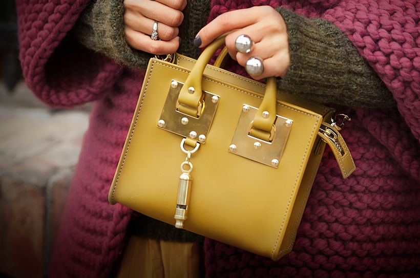sophie hulme mini bag on GalantGirl.com