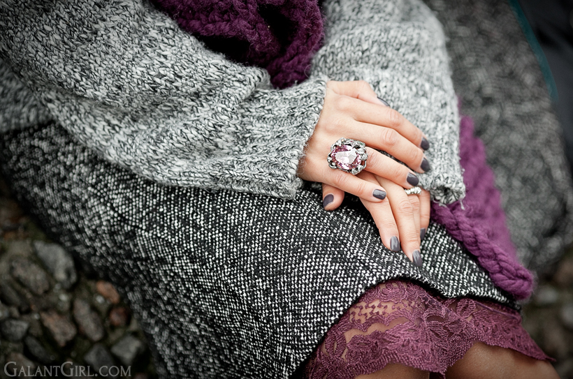 jewelry and lace on GalantGirl.com
