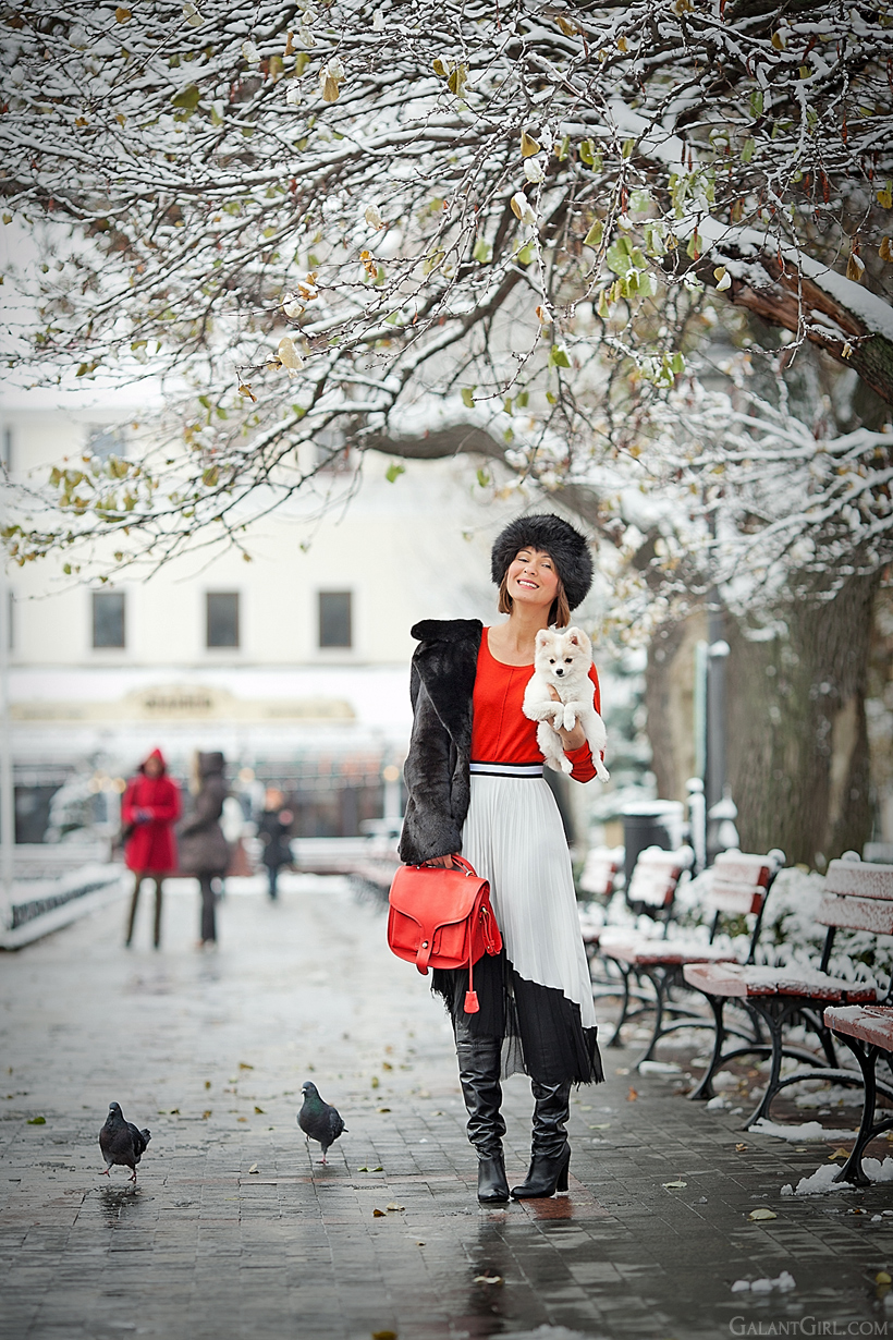 cold winter outfit on GalantGirl.com
