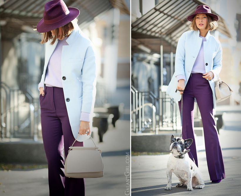 flare trousers outfit 2014 on GalantGirl.com