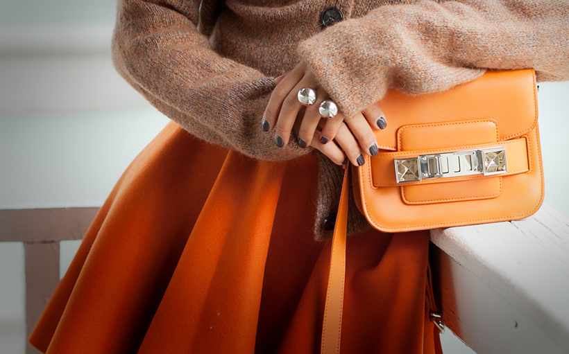 autumn outfit 2014 with Proenza Schouler PS11 tiny bag on GalantGirl.com