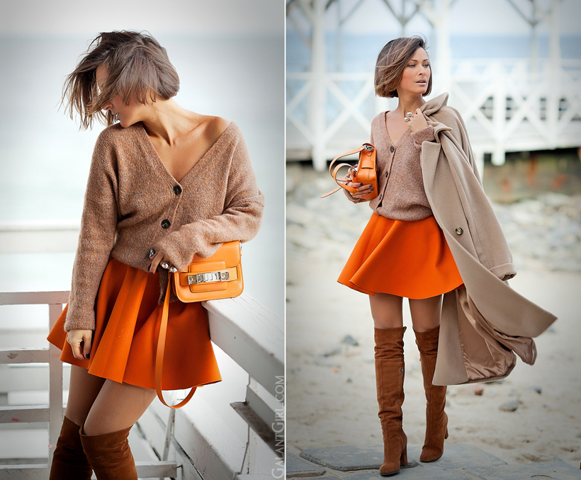 autumn outfit 2014 with Proenza Schouler PS1 tiny bag on GalantGirl.com