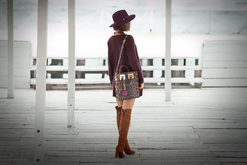 sophie hulme leopard tote bag on GalantGirl.com