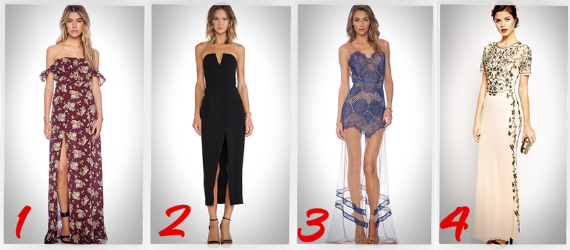 best dresses for New Year holidays 2014