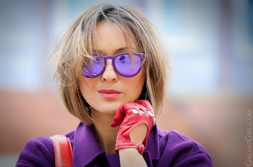 ray-ban erika velvet sunglasses, Galant Girl, Ellena Galant Girl