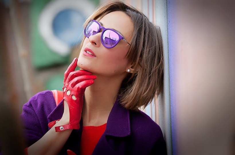 ray-ban Erika velvet sunglasses, Not for everyone eyewear, galant girl
