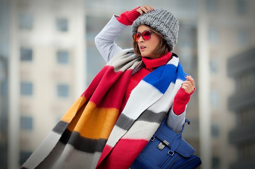 zara scarf on GalantGirl.com